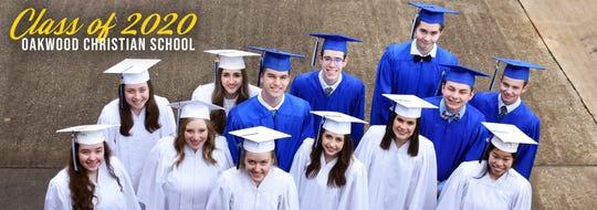 Oakwood Christian School class of 2020.
