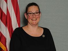 Toms River Regional Board of Education President Anna Polozzo