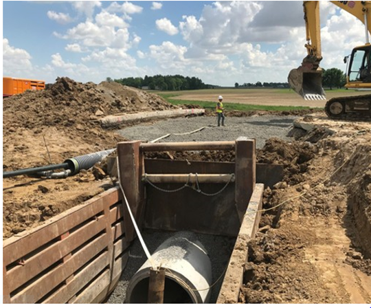 The eastbound lanes of U.S. 30 near Upper Sandusky are expected to reopen June 1, according to the Ohio Department of Transportation.
