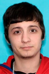 This undated identification photo released Wednesday, May 27, 2020, by the Vermont State Police shows Evan Labonte, of Fairfax, Vt., wanted as a suspect in a Wednesday morning shooting in Underhill, Vt.