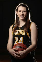 Danielle Padovano of South Brunswick was the Home News Tribune's 2012-13 Girls Basketball Player of the Year.