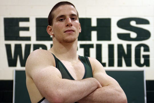 Jonathan Schleifer of East Brunswick was the Home News Tribune's 2013-14 Wrestler of the Year