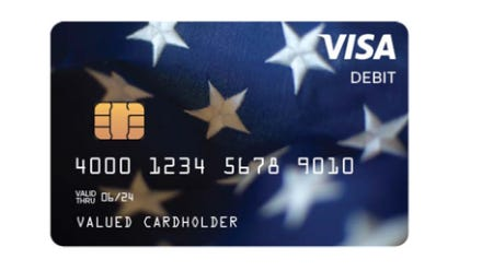 Don't throw away those VISA debit cards: They have stimulus cash