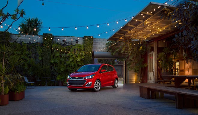 The Chevrolet Spark LS, which starts at $14,395, is the least-expensive new car you can buy.