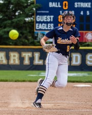Rachel Everett has pitched Hartland to a state championship game and a state quarterfinal in her first two years.