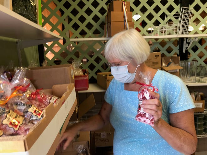 Merry Birmelin, the owner of Cobblestone Confections at 343 Lexington Ave., is closing the business. She said after being closed since March 23 due to the coronavirus re-opening is too risky.  Lou Whitmire/News Journal