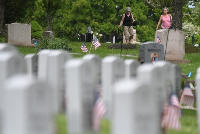 The Mansfield Cemetery has resumed opening at 7:30 a.m.