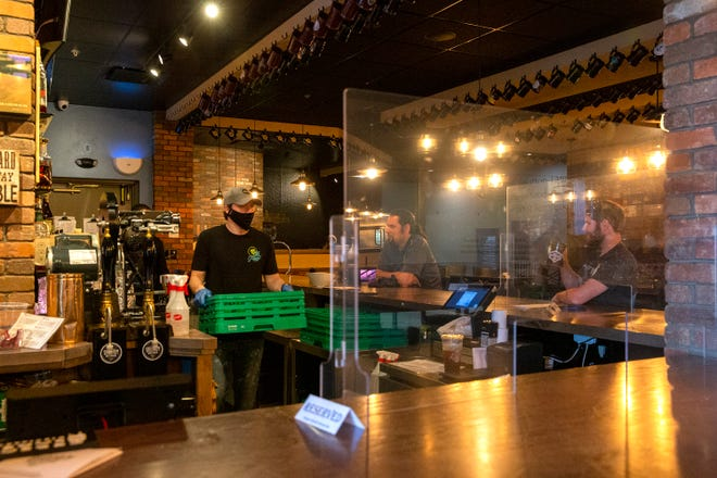 The Explorium Brewpub has reopened in Greendale with several safety precautions in place to protect patrons and staff.