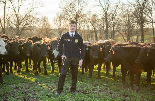 Dominic Pizzimenti of Mountain Home was elected the state's FFA Eastern Vice President at the AR Virtual State FFA Convention on May 20 and 21.