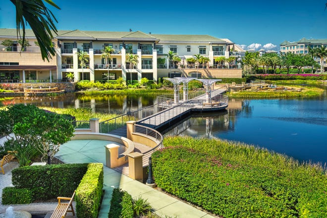 Moorings Park currently has three phenomenal Life Plan communities in Naples: Moorings Park (shown), Moorings Park at Grey Oaks, and Moorings Park Grande Lake.