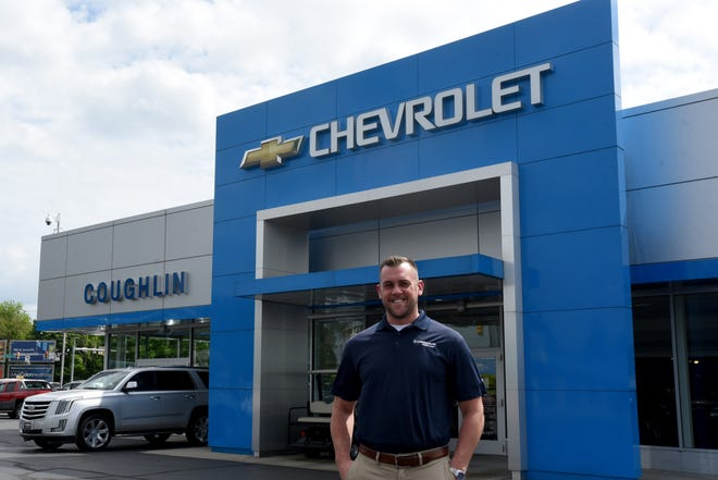 Ben Parks, sales manager at Coughlin of Newark, took his first sales job after graduating from Sheridan High School.