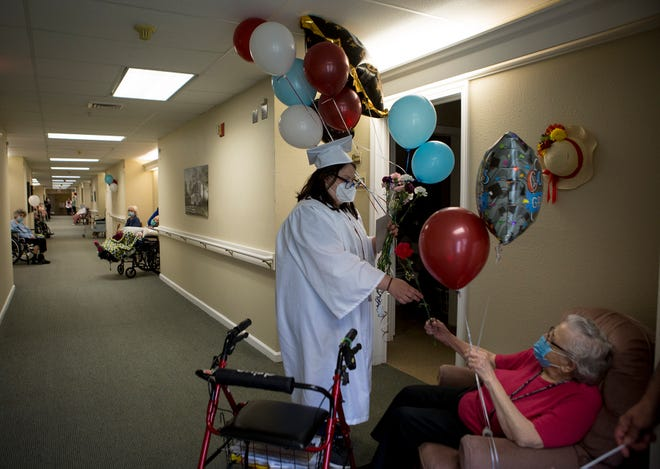 Nicole Price, a CTEC Clinical Care senior, has been employed at Chestnut House Assisted Living in Newark for 2 years.