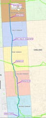 The Saginaw Trail Pipeline project is scheduled for this year.
