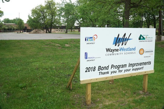 The William D. Ford Career-Techincal Center on Marquette is being renovated with funds from the Westland School bond.
