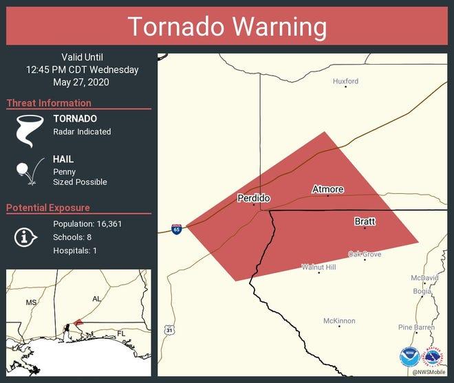 Tornado warning