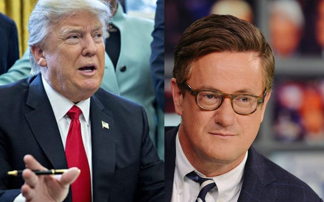 President Trump is attacking Pensacola native Joe Scarborough.