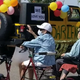 Mariposa Point properties are assisted living facilities in the Valley. Their Mesa facility had a drive-by parade for Mother's Day.