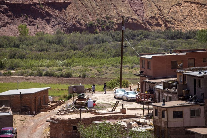 The Navajo and Hopi nations have orders in place requiring residents in nonessential positions to stay home. The area near Lower Moenkopi is pictured on May 19, 2020.