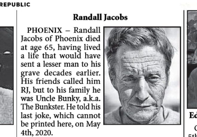 Uncle Bunky obituary