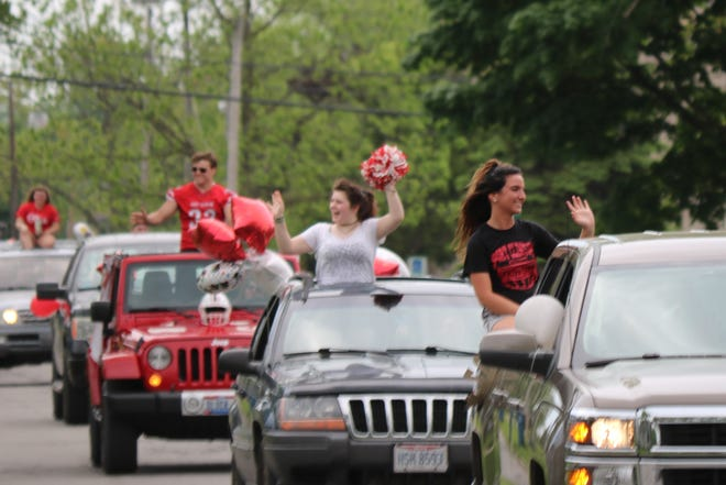 The Port Clinton High School Class of 2020 received the boisterous send-off they deserved as local first responders escorted them in a parade through the city as the community congratulated them from a distance.