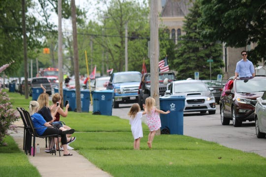 The Port Clinton community got the chance to congratulate local graduating PCHS seniors during a parade through the city on Wednesday.