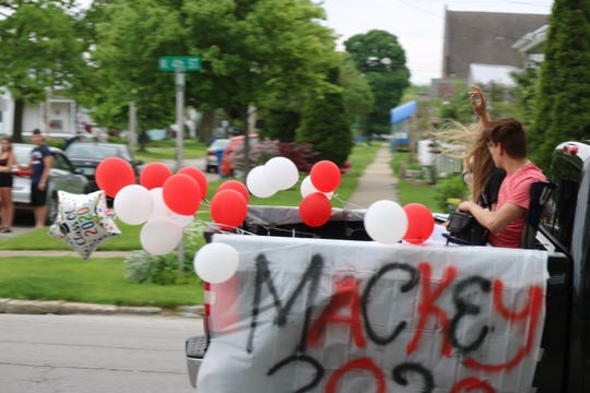Port Clinton High School's Class of 2020 received the bright and loud send-off they deserved on Wednesday as local first responders escorted them in a parade through the city.