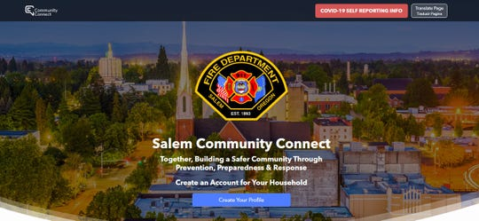 Salem Fire Department officials said the city'snew web-basedapplication, Community Connect,will help to fill gaps incritical information needed when firefighters and medics respond.