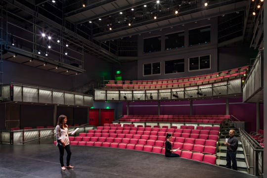 Clear Space Theatre Company's new design for its two theaters mimics the rehearsal and performance spaces at University of Maryland, Baltimore County.