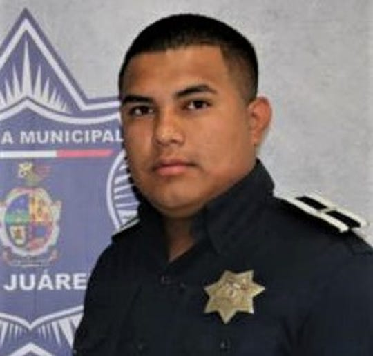 Juárez police officer Carlos Andres Ruvalcaba Villegas, 24, was killed in a shooting on Saturday, May 23, 2020.