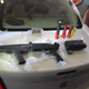 Heroin, meth, a shotgun and a grenade smoke launcher were some of the items seized by customs officers during a busy Memorial Day weekend at El Paso ports of entry.
