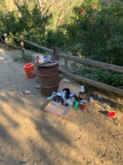 Paradise Falls in Thousand Oaks' Wildwood Park is closing indefinitely Friday due to the environmental impacts of overcrowding and trash.