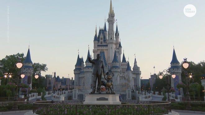 Disney World's Magic Kingdom is still planning to reopen Saturday, July 11.