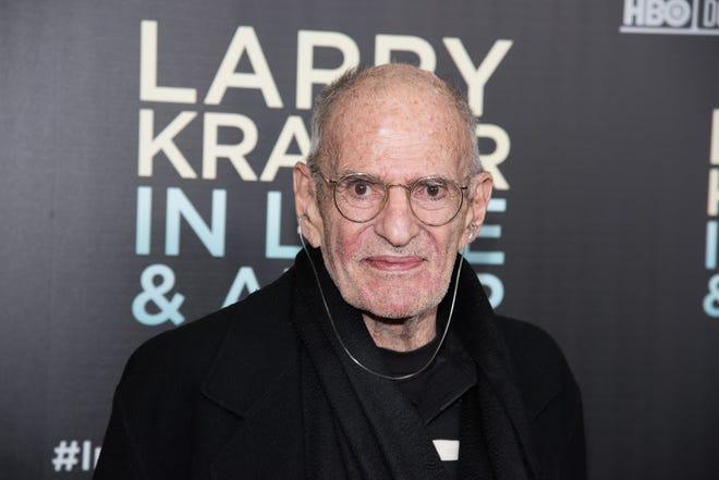 """Larry Kramer attends the """"Larry Kramer In Love And Anger"""" New York premiere on June 1, 2015 in New York."""