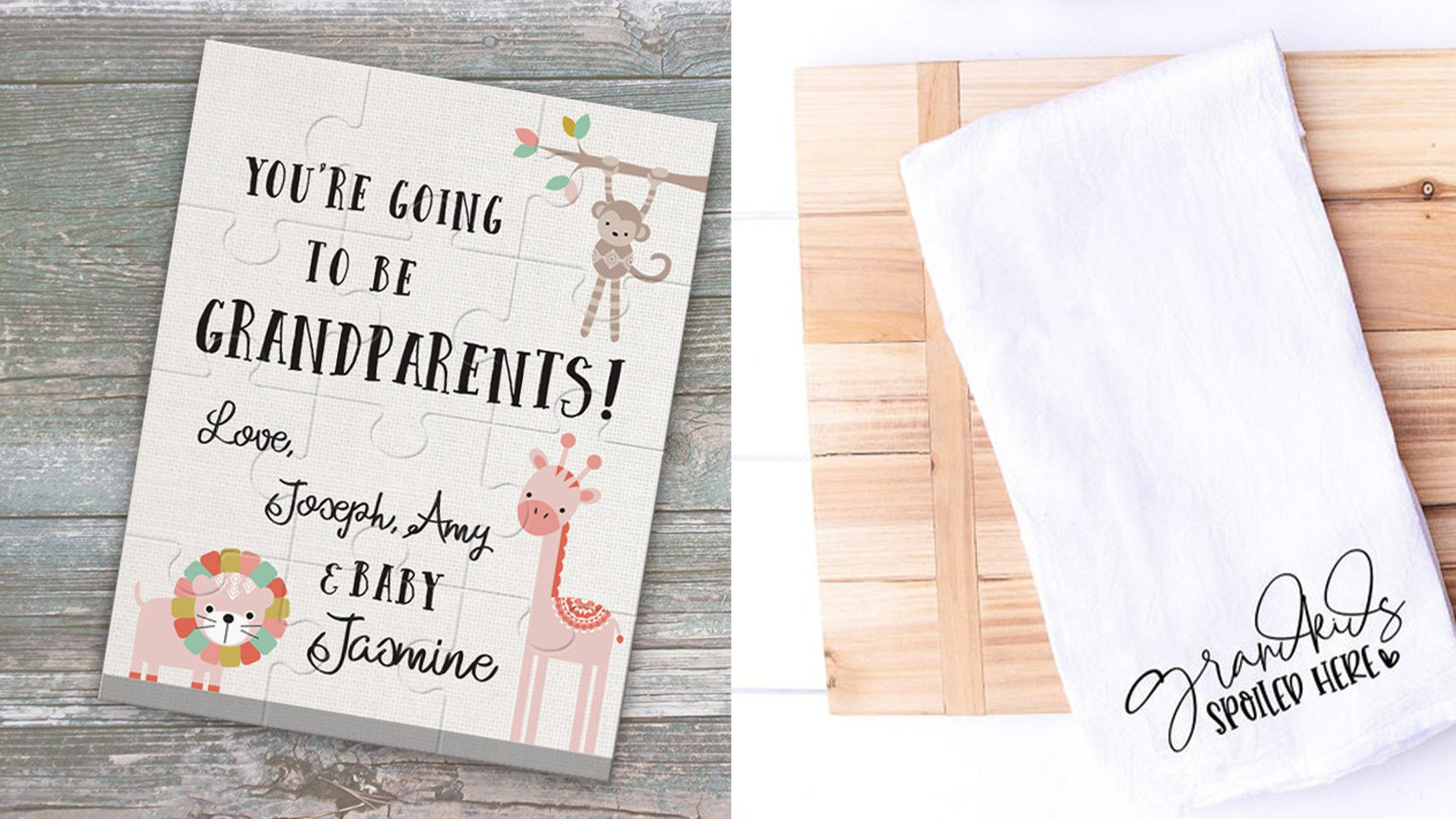 13 Thoughtful Gifts For New And Expecting Grandparents