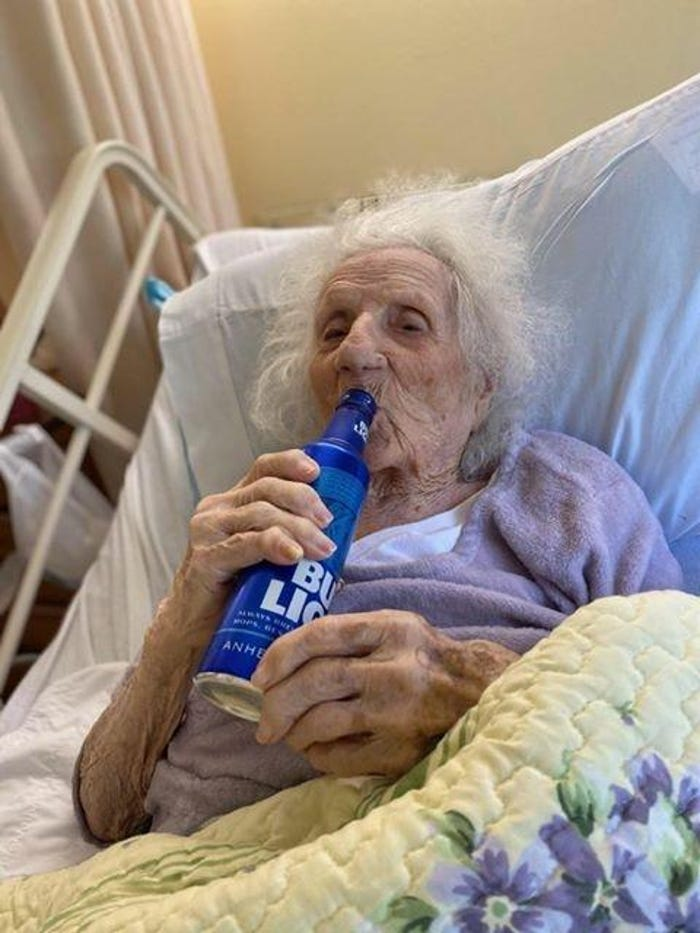 103-year-old Massachusetts woman beats coronavirus, celebrates with Bud Light