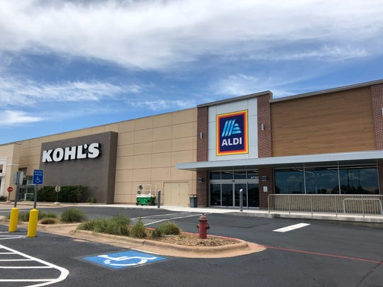 A new Aldi grocery store is set to open in July in Abilene next to Kohl's at 4765 Southwest Drive.
