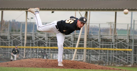 South Ktisap pitcher Tim Reidy earned All-South Puget Sound League first-team honors as a junior.