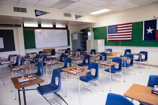 A Corpus Christi classroom