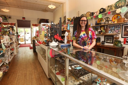 Katie Williard started with the Coshocton Antique Mall in 2012, and is now the manager. A lifelong resident of Coshocton, she graduated from Coshocton High School in 2008 and went on to earn a fashion merchandising degree in 2012 from The University of Akron. It was near the end of her college days that she developed an interest in antiques.