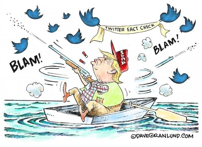 Dave Granklund editorial cartoon