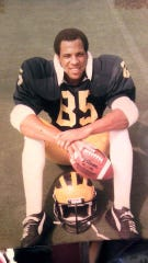 Chuck Christian, during his playing days for UM.