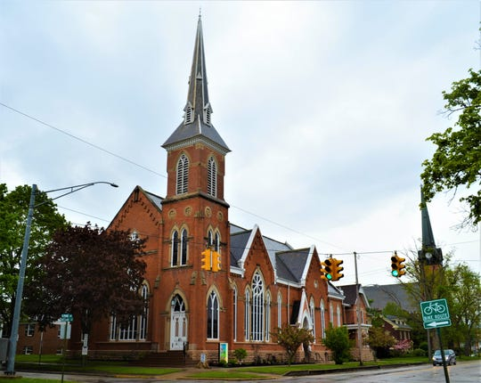 President Rutherford B. Hayes and his wife, Lucy, were regular attendees at this historic church at 216 S. Park Avenue. The church, which has been extensively renovated, is now for sale.