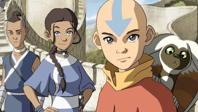 "Get to know Sokka, Katara, Aang and Momo in all three seasons of  ""Avatar: The Last Airbender,"" now streaming on Netflix."