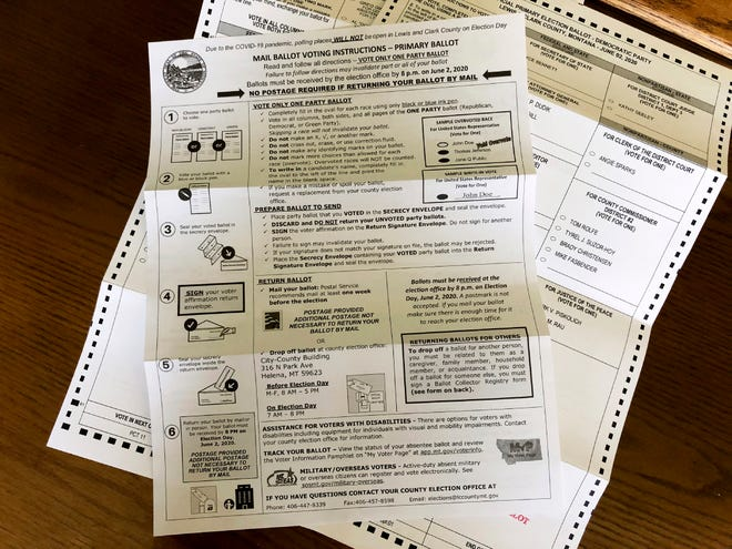The Montana Ballot Interference Prevention Act limits who can collect and convey ballots in elections.