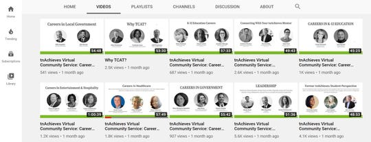 tnAchieves – a nonprofit that partners with the state to operate TN Promise –  is offering virtual community service to high school and college students through 23 one-hour webinars. The community can also watch the webinars on YouTube.