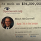 A screenshot from the Lincoln Project's new ad, which accuses Sen. Mitch McConnell of using his power to get rich instead of help Kentuckians.
