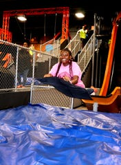 Sky Zone Murfreesboro will debut the company's first 18-foot slide attraction. The facility is located at 1220 N.W. Broad St.