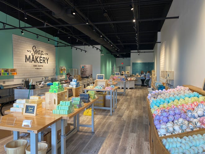 Buff City Soap offers handcrafted soaps, bath bombs, skin care products and more. Its new location opened at 203 N. Anderson Lane in Hendersonville.