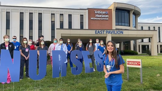 """Lauren Mascitti was a contestant on the most recent season of """"American Idol,"""" and she's also a nurse at TriStar Horizon Medical Center in Dickson, Tenn. She's among the performers on HCA Healthcare's new virtual concert, """"With Gratitude."""""""