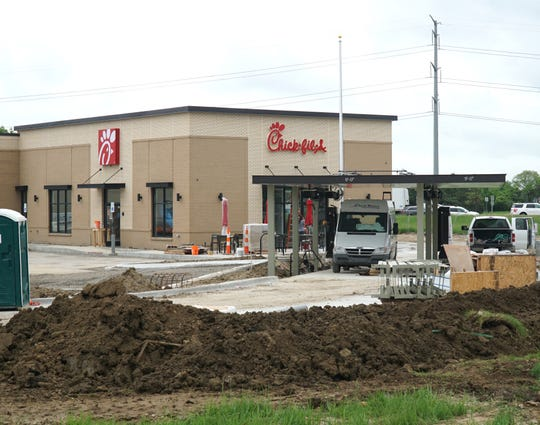 Novi's Chick-fil-A  at Novi Road and I-96 near Twelve Oaks Mall is nearly ready to open.